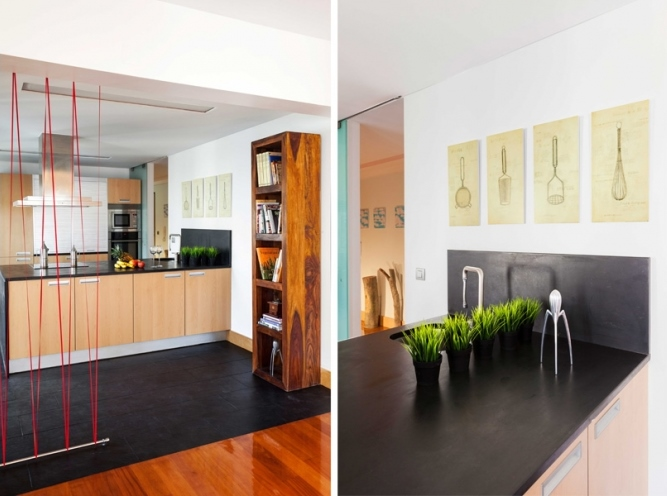 3 lisbon story apartment, colorful and white interior, interior design, projektowanie wnetrz, kolorowe mieszkanie, Francisco Plácido