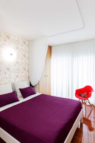 4 lisbon story apartment, colorful and white interior, interior design, projektowanie wnetrz, kolorowe mieszkanie, Francisco Plácido