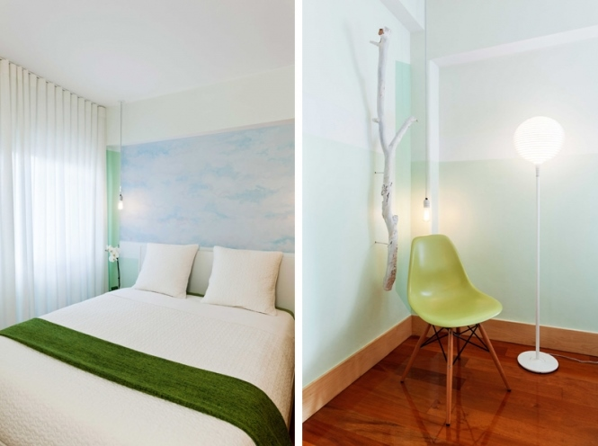 5 lisbon story apartment, colorful and white interior, interior design, projektowanie wnetrz, kolorowe mieszkanie, Francisco Plácido