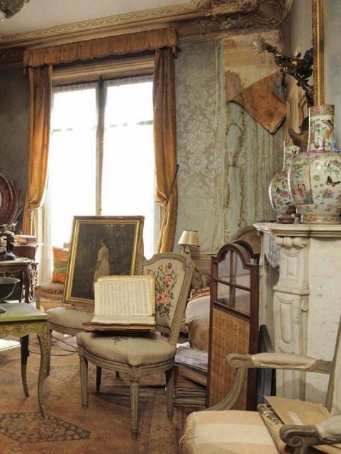 4 paris apartment, time capsule, interior design of the 40s, antiques and art, paryz, projektowanie wnetrz, design lata 40, antyki w mieszkaniu, Giovanni Boldini