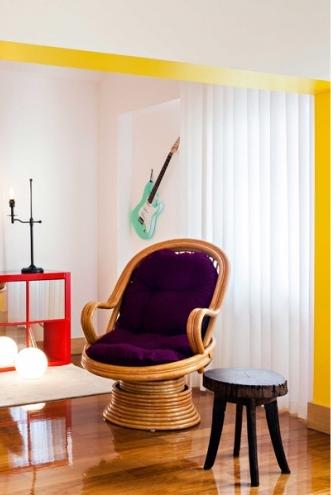 8 lisbon story apartment, colorful and white interior, interior design, projektowanie wnetrz, kolorowe mieszkanie, Francisco Plácido