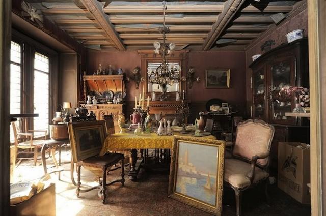 1 paris apartment, time capsule, interior design of the 40s, antiques and art, paryz, projektowanie wnetrz, design lata 40, antyki w mieszkaniu, Giovanni Boldini