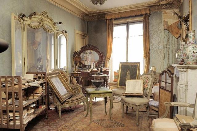 2 paris apartment, time capsule, interior design of the 40s, antiques and art, paryz, projektowanie wnetrz, design lata 40, antyki w mieszkaniu, Giovanni Boldini