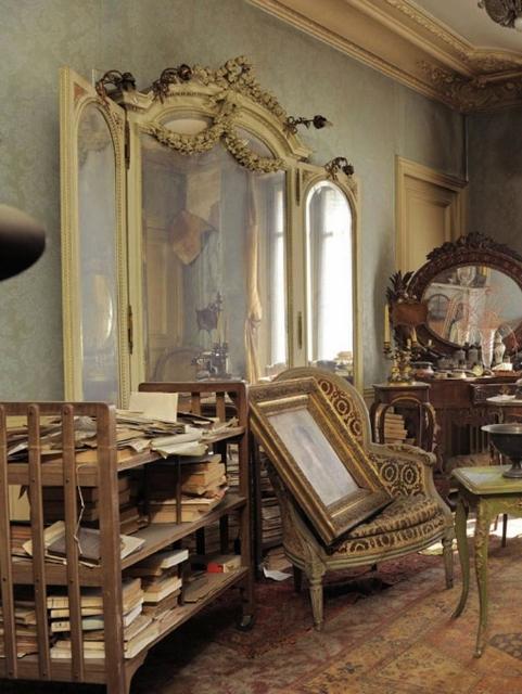 3 paris apartment, time capsule, interior design of the 40s, antiques and art, paryz, projektowanie wnetrz, design lata 40, antyki w mieszkaniu, Giovanni Boldini
